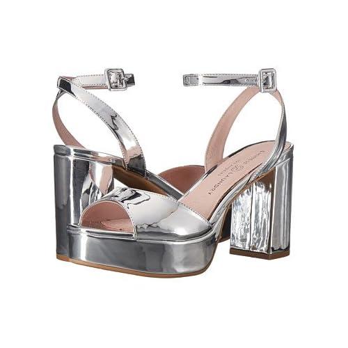 (チャイニーズランドリー)Chinese Laundry レディースサンダル・靴 Theresa Silver Mirror 6.5 23.5cm M [並行輸入品]