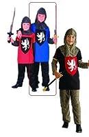 3個 RG Costumes子供用中世の騎士コスチューム
