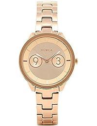 2763b41189e2 [フルラ] 腕時計 レディース FURLA R4253102518 ピンクゴールド [並行輸入品]