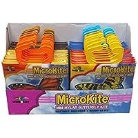 X-Kites MicroKite Butterfly Mini Mylar Kite Assortment Pack (24-Pack) by X-Kites [並行輸入品]