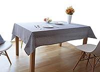 EGROON 簡約 テーブルクロス テーブルカバー 食卓カバー デスクマット テーブルマット グレー
