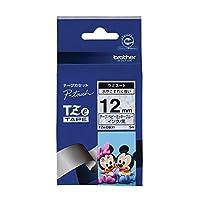 ブラザー ピータッチテープ ディズニーテープ ベビーミッキーブルー/黒字 12mm TZE-DB31 【まとめ買い3個セット】