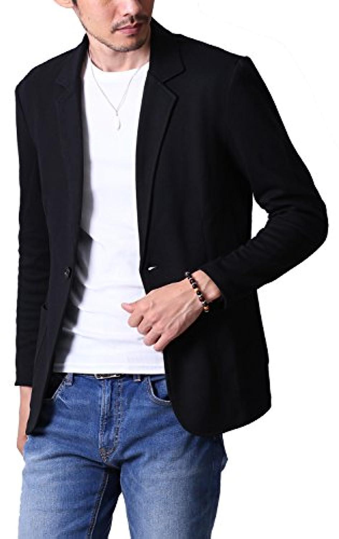 liberte riche(リベルテ リッシュ) メンズ ジャケット テーラードジャケット スウェット ビジネス カジュアル 細身 ストレッチ 5color
