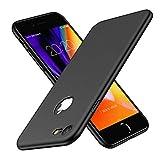 Woqatac iPhone8 ケース iPhone7 ケース iPhone 8/7 カバー PC素材 指紋防 ケース 耐衝撃カバー 擦り傷防止 軽量 超薄型Qi充電対応 (ブラック)