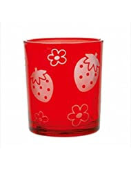 sweets candle いちごフロストカップ 「 レッド 」