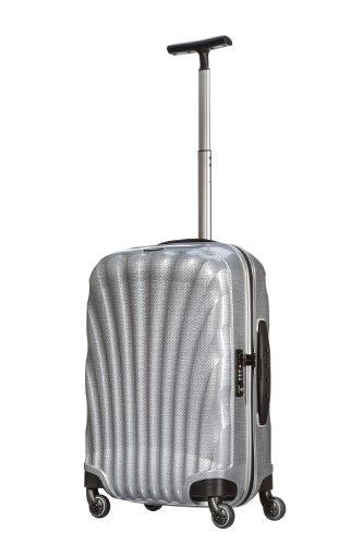 [サムソナイト] Samsonite COSMOLITE / コスモライト スピナー 55 (55cm/36L/1.8Kg) (スーツケース・キャリーケース・トラベルバッグ・TSAロック装備・軽量・大容量・機内持込・ファスナー・10年保証付・リニューアルタイプ) V22*00102 25 (シルバー)