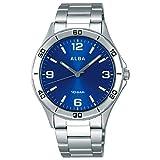 [セイコーウォッチ] 腕時計 アルバ スポーツ 日常生活用強化防水(10気圧) ドーム無機ガラス AQPK412 メンズ シルバー