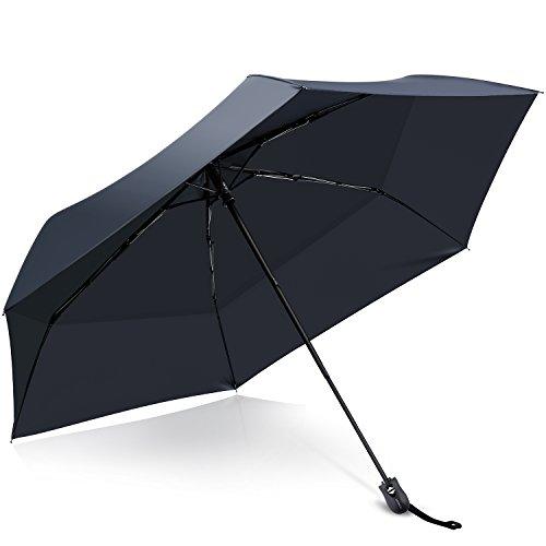 折りたたみ傘 日傘 ワンタッチ自動開閉 UVカット率・遮光率100%以上 遮熱効...