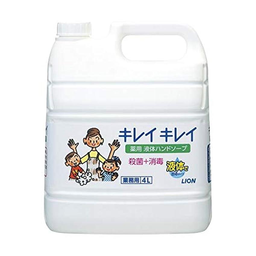 理容室圧縮スワップキレイキレイ薬用ハンドソープ 4Lx3 ダイエット 健康 衛生用品 ハンドソープ 14067381 [並行輸入品]