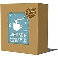 カフェインレス ドリップパック 5個入りボックス マメーズ焙煎工房のこだわり 高級デカフェ ドリップコーヒー