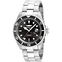 Invicta Men's 'Pro Diver' Quartz Stainless Steel Casual Watch (Model: 22047)