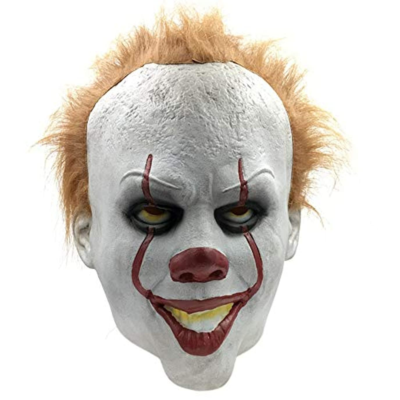 フォーカス全部きらめきハロウィン大人のラテックスホラーマスクしかめっ面マスクパーティーマスク怖い悪魔マスク映画小道具仮面舞踏会マスク