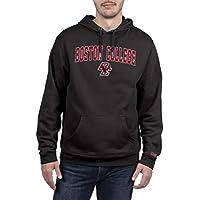 NCAA Utah Utes Men's Hoodie Sweatshirt Black Applique Arch, Black, Large