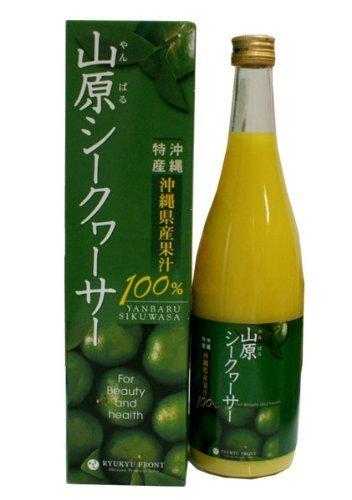 琉球フロント 山原(やんばる)シークヮーサー 沖縄県産 果汁100% 720ml ×5本セット
