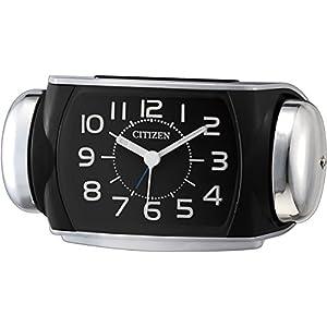 CITIZEN ( シチズン ) 大音量 目覚し 時計 バトルパワーR636 シルバーメタリック 8RA636-002