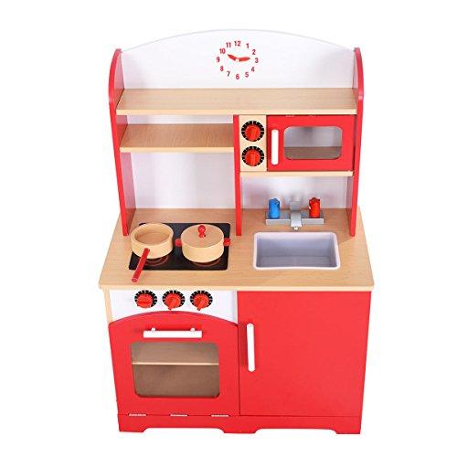 木製キッチンおもちゃ子供料理ごっこ遊びセット幼児用木製プレイセット