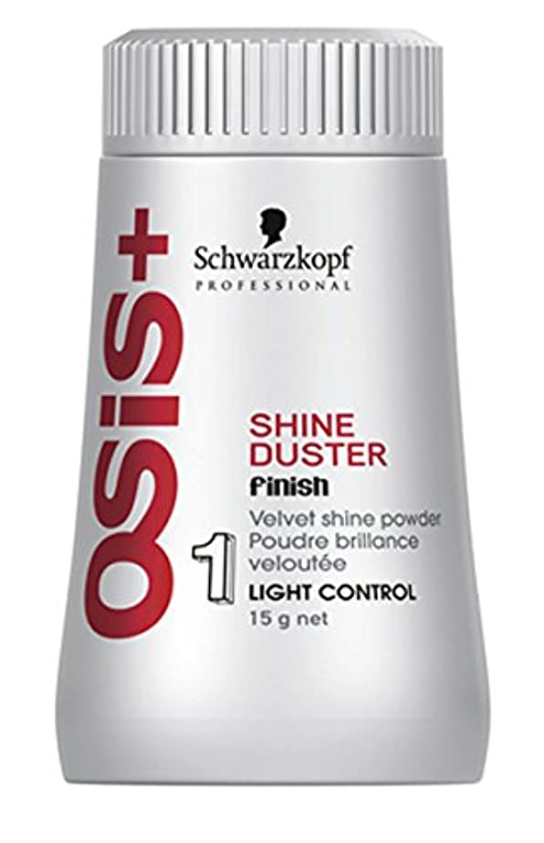 害虫少ないシニスSchwarzkopf OSISダスター終了ベルベットシャインパウダーシャイン(。) 0.52オンス