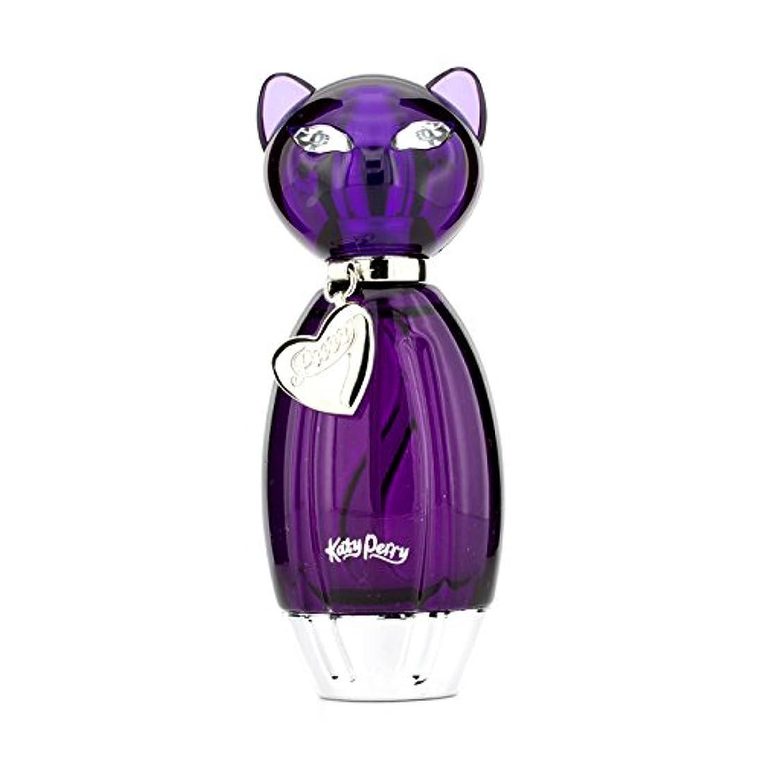 紫の再生可能成り立つケイティペリー パー(Purr)オードトワレスプレー 30ml