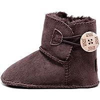 Best Gift Choice UGG Baby Bootie- Premium Australian Sheepskin, Super Warm and Comfort