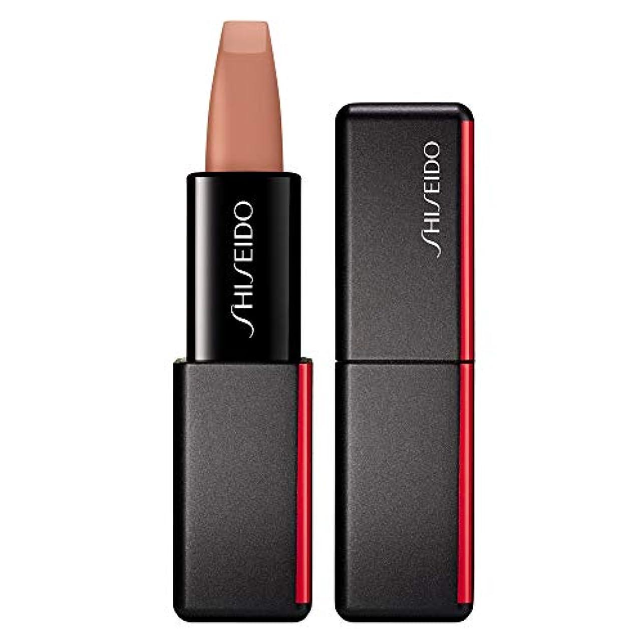 ハロウィンくすぐったい不完全な資生堂 ModernMatte Powder Lipstick - # 502 Whisper (Nude Pink) 4g/0.14oz並行輸入品