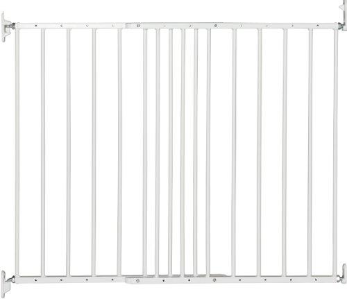 BabyDan Multidan Extending Metal Safety Gate (White)