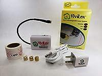 ViviLux 3-in-1 レーザーシステム - 3つのレーザーが1つに 充電式バッテリー付き 裁縫 キルティング 工芸用 VLLSR01