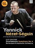 ドキュメンタリー「ヤニック・ネゼ=セガン」   コンサート「ショスタコーヴィチ : 交響曲第4番」 (Yannick Nezet-seguin-portrait & concert: Schostakowitsch Sym 4) [2DVD] [Import] [日本語帯・解説付]