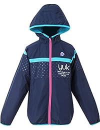 (ユック)YUK 子供用 女の子 ウィンドブレーカージャケット【yk17aw086g】