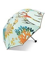ININUK 折りたたみ傘 レディース 軽量 晴雨兼用 超撥水 可愛い プリント 折り畳み 日傘 携帯しやすい 梅雨対策 丈夫 耐風撥水 紫外線カット 手開閉式 おしゃれ はじきなし安全設計