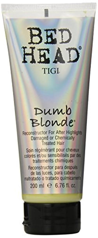 彫刻家配送しなければならないTIGI Bed Head Dumb Blonde Conditioner (NEW) 200 ml (6.76 oz.) (並行輸入品)