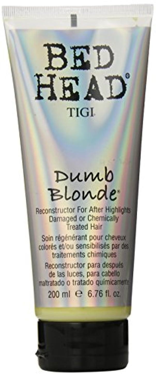 歴史家イースター部分的TIGI Bed Head Dumb Blonde Conditioner (NEW) 200 ml (6.76 oz.) (並行輸入品)