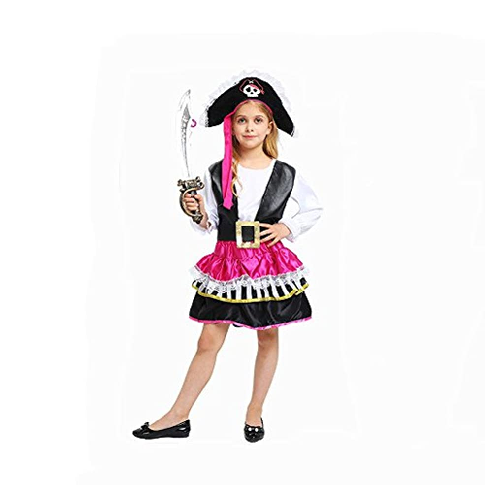 欲望消化器排除するcrazy(クレイジー)ハロウイン海賊衣装 子供用 女の子 キッズ海賊 コスプレ コスチューム 海賊 仮装 海賊クルーハロウィン コスプレ 魔女 デビル 悪魔 パーティー ゲーム Halloween変装 ハロウイングッズ?イベント?コスプレ