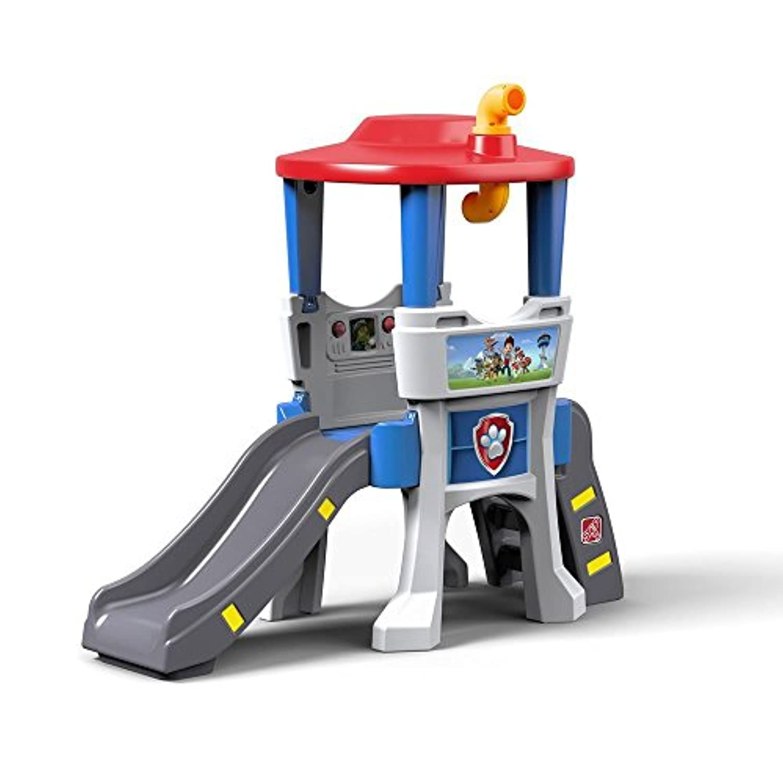 幼児用Paw Patrol Climberとスライド – キッチンPlaysets for Toddlers suitabe屋内と屋外の使用 – Strong & Sturdy Playset – Kids CanスポットTheir Friends Through the Lookout Periscope。新しい