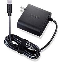 エレコム ノートPC用ACアダプター Type-C PD対応 65W ケーブル一体型 2m ブラック ACDC-PD0465BK