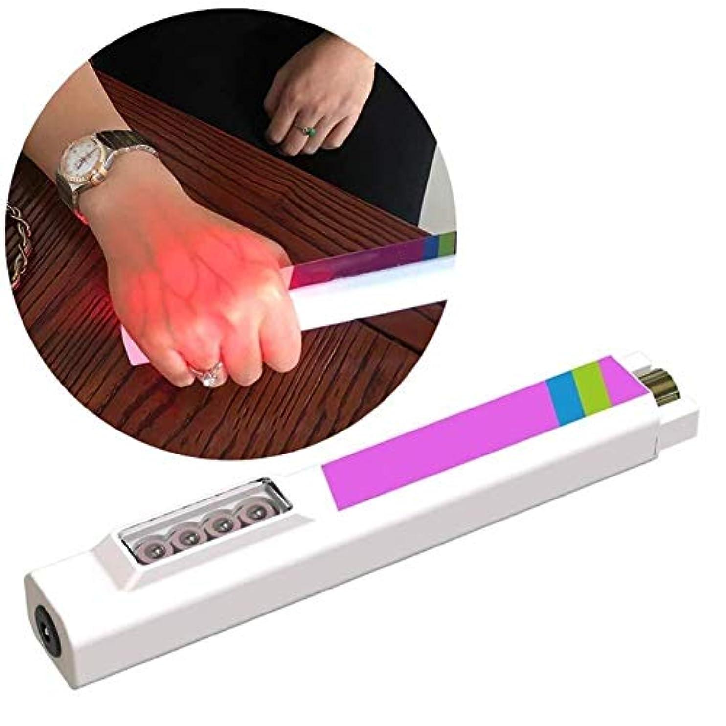 ねばねば寄稿者コイル静脈イメージング懐中電灯血管ディスプレイ懐中電灯手穿刺による血管ライトの確認皮下静脈デバイスの発見が容易