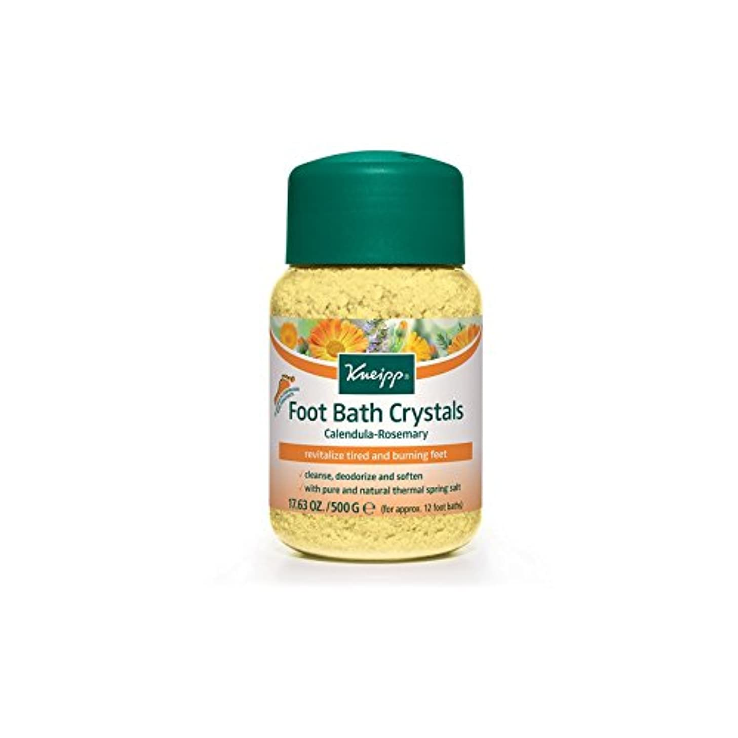 Kneipp Foot Crystals (500g) (Pack of 6) - クナイプ足の結晶(500グラム) x6 [並行輸入品]