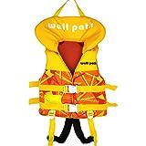 子供用 ライフジャケット フローティングベスト 子供 ライフジャケット 救命胴衣 水泳 ベスト 男女兼用 4〜10歳に適しています …