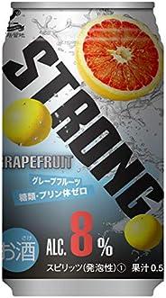 神戸居留地ストロングチューハイ グレープフルーツ 糖類ゼロ 缶 [ チューハイ 350mlx24本 ]
