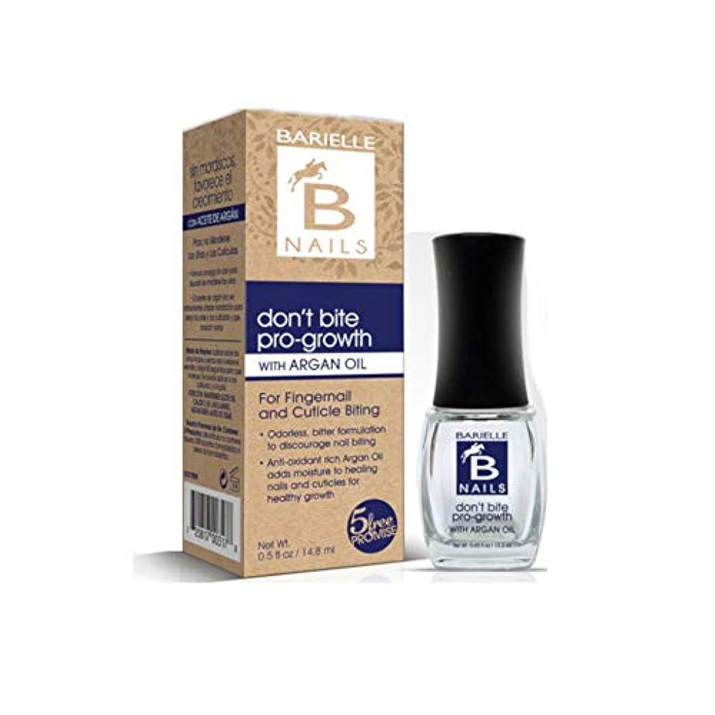 勉強する競合他社選手うまくいけばBarielle Nails - Don't Bite Pro-Growth with Argan Oil - 13.3 mL/0.45 oz