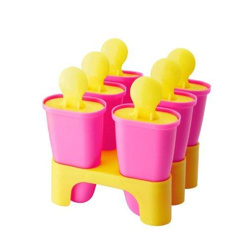 IKEA CHOSIGT アイスキャンディメーカー / ピンク × イエロー (60208479)