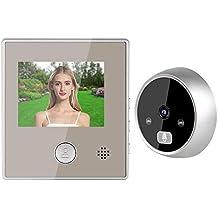 Door Phone System, Video Door Control System, Low Power Consumption Durable 3 Inch LCD Display Doorphone Access System Door Camera, for Home Office