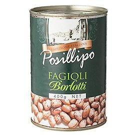 ポジリポ ボルロッティ(うずら豆)水煮 / 400g TOMIZ/cuoca(富澤商店) イタリアンと洋風食材 洋食材