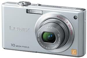 Panasonic デジタルカメラ LUMIX (ルミックス) FX37 プレシャスシルバー DMC-FX37-S