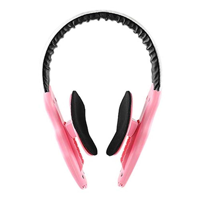 センチメートル決して嵐の顔の減量 v フェース薄い顔アーティファクトリフティング楽器顔整形女性男性マッサージ,Pink