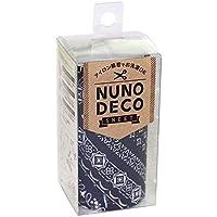 KAWAGUCHI(カワグチ) 手芸用品 NUNO DECO ヌノデコシート バンダナ こん 15-260