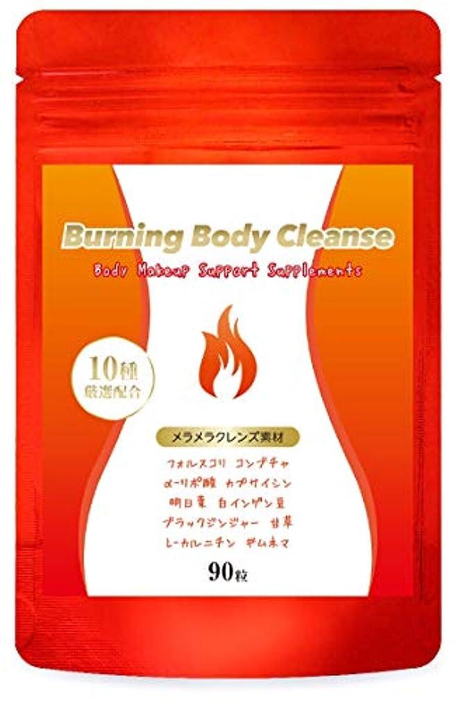欠伸寄り添う施しダイエット サプリ Burning Body Cleanse 燃焼系 サプリメント コンブチャ クレンズ スリム 美ボディ サポート 60粒/30日分