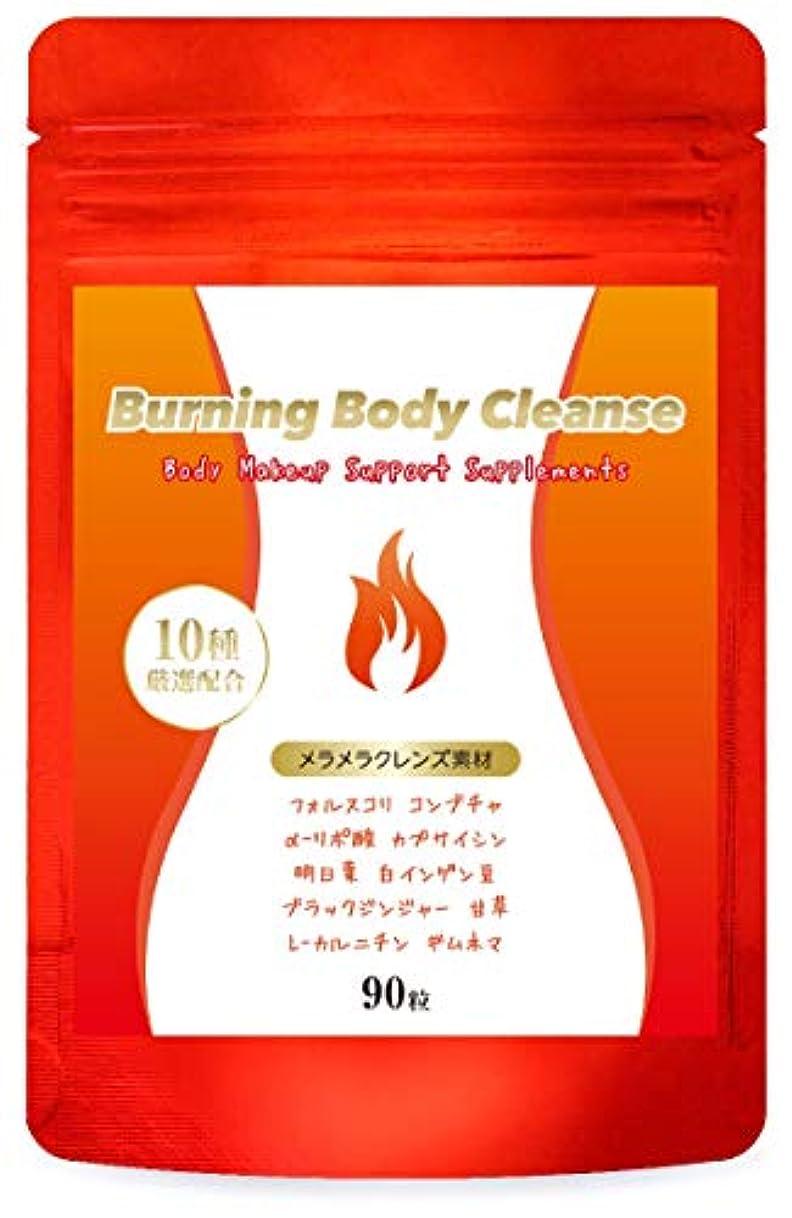 りんごピンポイント繰り返しダイエット サプリ Burning Body Cleanse 燃焼系 サプリメント コンブチャ クレンズ スリム 美ボディ サポート 60粒/30日分