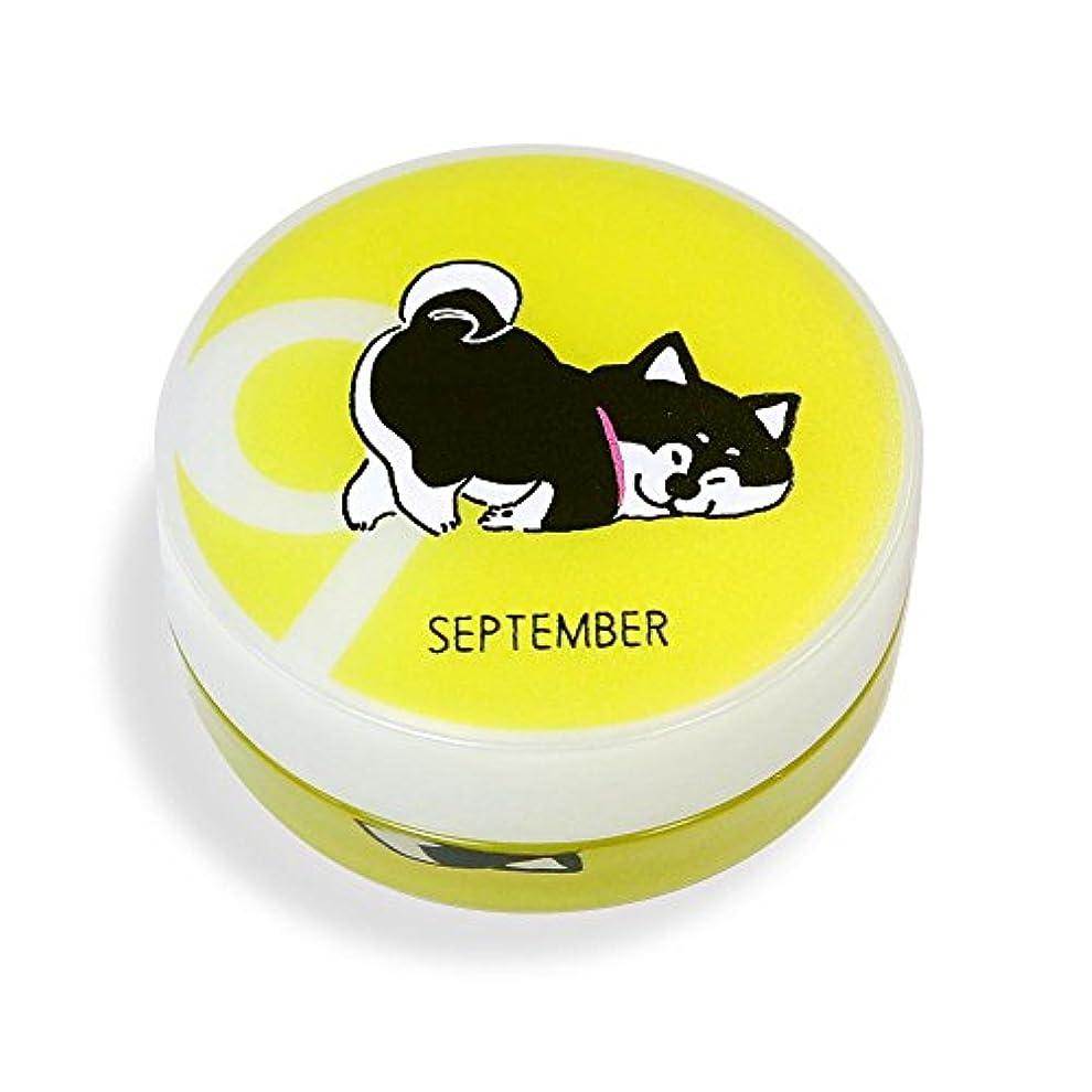 であること偽造ゴミ箱を空にするしばんばん フルプルクリーム 誕生月シリーズ 9月 20g