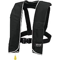 手動膨張式ライフジャケット 肩掛式 LG-3型ブラック 国交省認定品 新基準対応