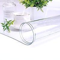 テーブルクロス XJJUN 長方形PVCプロテクター透明ソフト防水ませバブルダイニングテーブルは、食品のカットが適当であり得ます (Color : 1mm, Size : 75x150cm)
